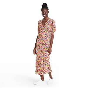 Floral Puff Sleeve Dress - RIXO for Target