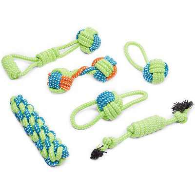 Okuna Outpost Rope Toys for Large Dogs (6 Pack)