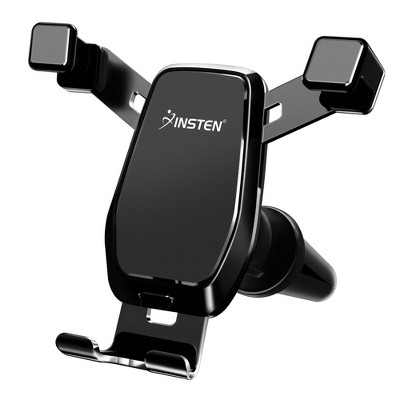 Insten Car Phone Holder, Gravity Air Vent Mount with Hands Free Auto Lock for iPhone 12 Pro Max 11 XS XR Cell Phones Universal