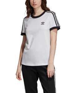 Women's Adicolor Cotton 3-Stripe T-Shirt