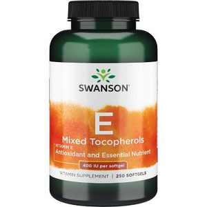 Swanson Vitamin E Mixed Tocopherols 400 Iu 250 Softgels