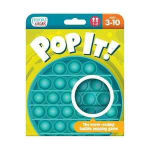 Chuckle & Roar Pop It! Game - Teal