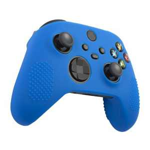 Insten Controller Silicone Grip Case Compatible with Xbox Series X/S, Protective Cover, Blue