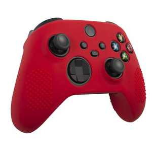 Insten Controller Silicone Grip Case Compatible with Xbox Series X/S, Protective Cover, Red
