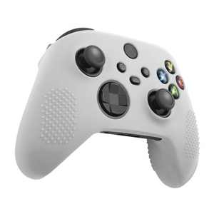 Insten Controller Silicone Grip Case Compatible with Xbox Series X/S, Protective Cover, White