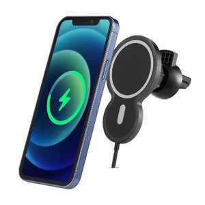 Dartwood 15W Magnetic Wireless Car Charger Compatible with iPhone 12/12 Pro/12 Pro Max/12 Mini