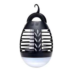 Dartwood Outdoor Bug Zapper - Waterproof, USB Rechargeable and Battery Powered Mosquito Killer, Insect Trap and Fly Swatter