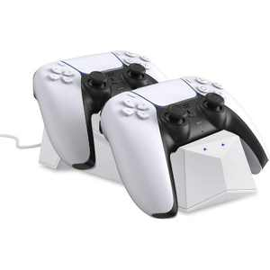 Wasserstein Charging Station for Sony Playstation 5 DualSense Controller - Make Your PS5 Gaming Experience More Convenient with this Charger