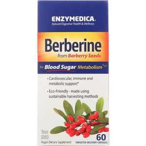 Enzymedica Herbal Supplements Berberine 500 mg Capsule 60ct.