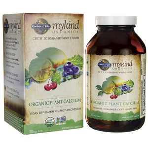 Garden of Life Mineral Supplements Mykind Organics Organic Plant Calcium Tablet 180ct.