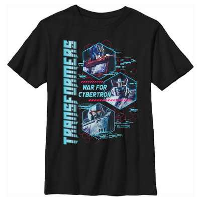 Boy's Transformers War for Cybertron Characters T-Shirt