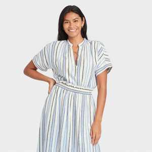 Women's Short Sleeve Top - A New Day