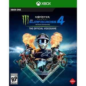Monster Energy Supercross 4: The Official Video Game - Xbox One