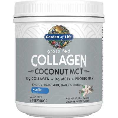 Garden of Life Omegas And Fish Oil Grass Fed Collagen Coconut Mct Powder