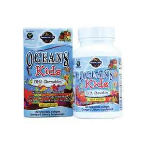 Garden of Life Oceans Kids Dha Chewables 120ct