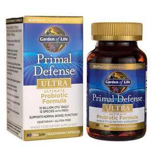 Garden of Life Probiotics Primal Defense Ultra 5 Billion Cfu Capsule 90ct