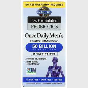 Garden of Life Probiotics Dr. Formulated Probiotics Once Daily Men's 50 Billion Cfu Capsule 30ct