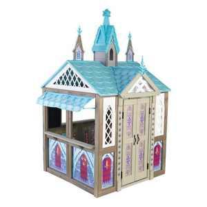 KidKraft Disney's Frozen Arendelle Kingdom Magical Castle Replica Indoor/Outdoor Children's Playhouse for Kids Ages 3 to 10 Years Old