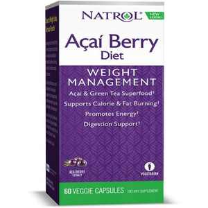 Natrol Weight Loss Supplements Acai Berry Diet Capsule 60ct