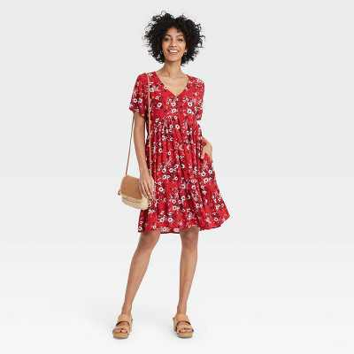 Women's Short Sleeve Dress - Knox Rose