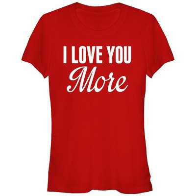 Junior's Lost Gods I Love You More T-Shirt