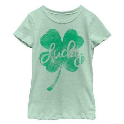 Fifth Sun Kids Short Sleeve Crew Graphic Tee - Green Medium