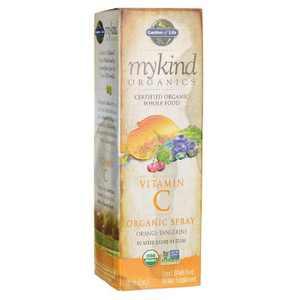 Garden of Life Vitamin C Mykind Organics Vitamin C Organicuid Spray - Orange-Tangerine
