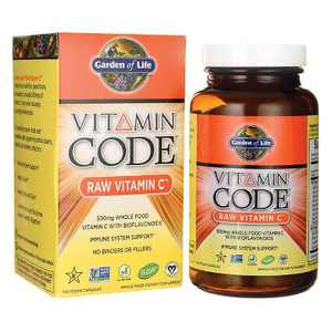 Garden of Life Vitamin C Vitamin Code Raw Vitamin C Capsule 120ct
