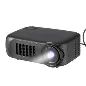 Dartwood Portable Mini Projector with HDMI, USB, and TF Memory Ports for Movies, TV and Gaming in the Office or Bedroom