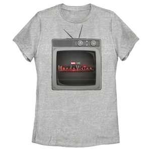 Women's Marvel WandaVision TV Logo T-Shirt