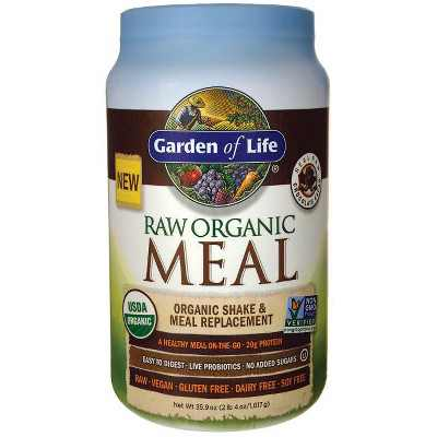 Garden of Life Greens And Superfood Supplements Raw Organic Meal Shake & Meal Replacement Powder