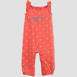 Baby Girls' 'Mommy's Sunshine' Romper - Just One You made by carter's Pink