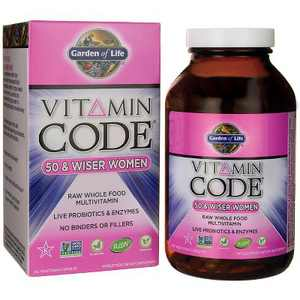 Garden of Life Multivitamins Vitamin Code 50 & Wiser Women Capsule 240ct