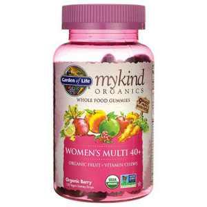 Garden of Life Mykind Organics Women's 40+ Gummy Multi - Berry 120ct
