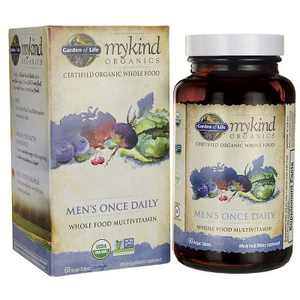 Garden of Life Multivitamins Mykind Organics Men's Once Daily Tablet 60ct