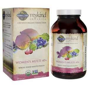Garden of Life Multivitamins Mykind Organics Women's Multi 40+ Tablet 120ct