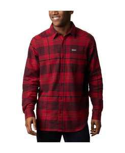 Men's Cornell Woods Big & Tall Plaid Flannel Shirt