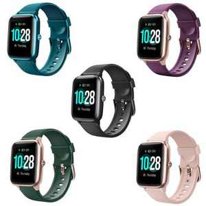 Letsfit Smartwatch Fitness Tracker with Heart Rate Monitor Activity Tracker with 1.3 Inch Touch Screen IP68 Waterproof Pedometer Smartwatch with Sleep Monitor for iPhone and Android - ID205L