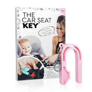 The Car Seat Key Car Seat Accessories - Pink