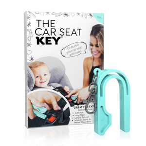 The Car Seat Key Car Seat Accessories - Teal