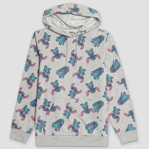 Men's Disney Stitch Graphic Sweatshirt - Gray