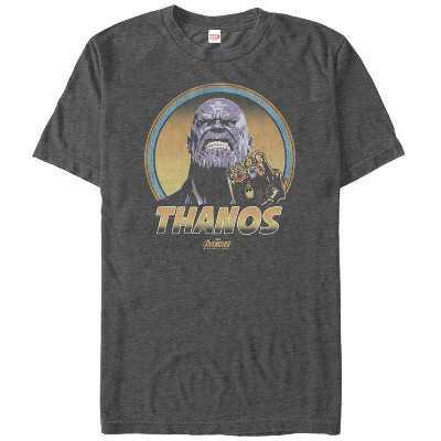 Men's Marvel Avengers: Infinity War Thanos Retro T-Shirt