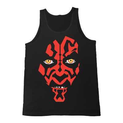 Men's Star Wars Darth Maul Face Tank Top