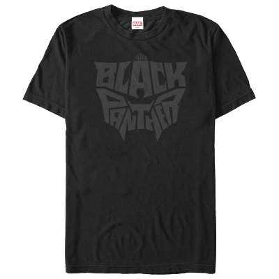 Men's Marvel Black Panther 2018 Hidden Mask T-Shirt