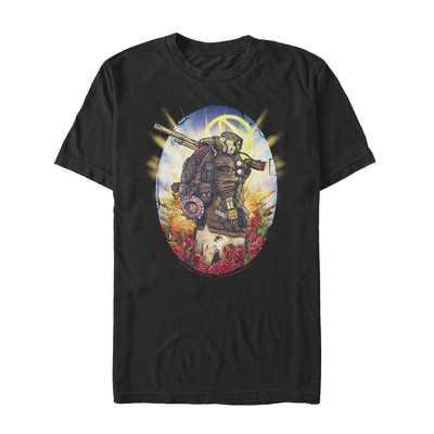 Men's Borderlands 3 Floral FL4K Beastmaster T-Shirt