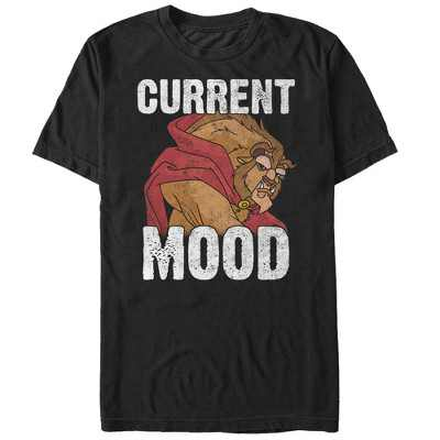 Men's Beauty and the Beast Current Mood T-Shirt