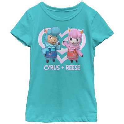 Girl's Nintendo Animal Crossing Cyrus and Reese T-Shirt