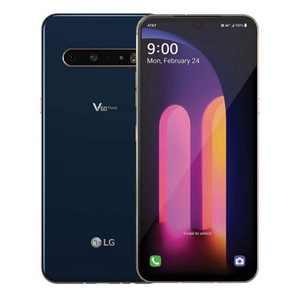 LG V60 ThinQ 5G 128GB ROM 8GB RAM LMV600AM GSM Unlocked Smartphone - Classy Blue