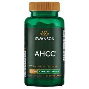 Swanson AHCC - Maximum Strength 500 mg 60 Veggie Capsules.