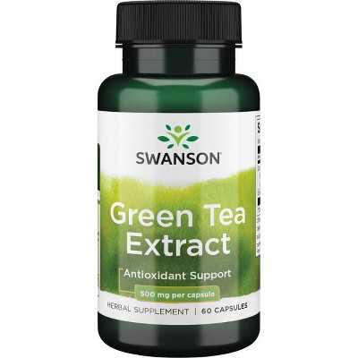 Swanson Green Tea Extract 500 mg 60 Capsules